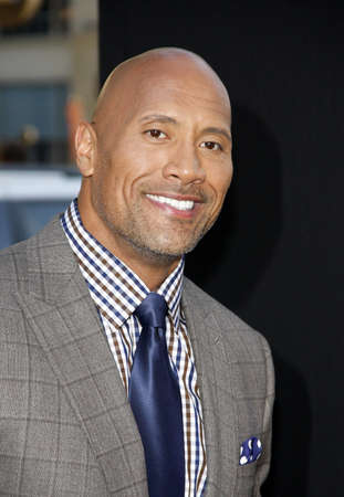 Dwayne Johnson at the Los Angeles premiere of Hercules held at the TCL Chinese Theatre in Los Angeles, USA on July 23, 2014. Editorial