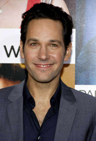 Paul Rudd at the Los Angeles premiere of How Do You Know held at the Regency Village Theatre in Westwood on December 13, 2010.