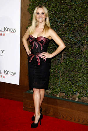 reese: Reese Witherspoon at the Los Angeles premiere of How Do You Know held at the Regency Village Theatre in Westwood on December 13, 2010.