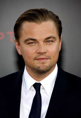 inception: Leonardo DiCaprio at the Los Angeles premiere of Inception held at the Graumans Chinese Theatre in Hollywood on July 13, 2010.