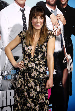 lindsay: Lindsay Sloane at the Los Angeles premiere of Horrible Bosses 2 held at the TCL Chinese Theatre in Los Angeles on November 20, 2014 in Los Angeles, California.