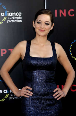 inception: Marion Cotillard at the Los Angeles premiere of Inception held at the Graumans Chinese Theatre in Hollywood on July 13, 2010.