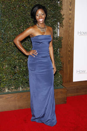 Teyonah Parris at the Los Angeles premiere of How Do You Know held at the Regency Village Theatre in Westwood on December 13, 2010.