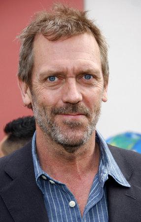 Hugh Laurie op de Los Angeles première van 'Hop' gehouden in de Universal Studios Hollywood in Universal City op 27 maart 2011.