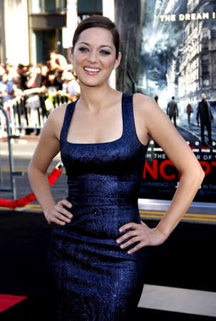 marion: Marion Cotillard at the Los Angeles premiere of Inception held at the Graumans Chinese Theater in Hollywood on July 13, 2010.