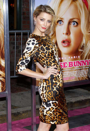 heard: Amber Heard at the Los Angeles premiere of House Bunny held at the Mann Village Theater in Westwood on August 20, 2008.