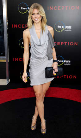 inception: AnnaLynne McCord at the Los Angeles premiere of Inception held at the Graumans Chinese Theater in Hollywood on July 13, 2010.