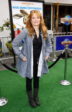 lea: Lea Thompson at the Los Angeles premiere of Hop held at the Universal Studios Hollywood in Universal City on March 27, 2011. Editorial
