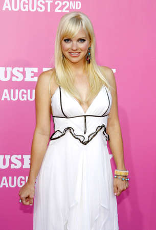 mann: Anna Faris at the Los Angeles premiere of House Bunny held at the Mann Village Theater in Westwood on August 20, 2008.