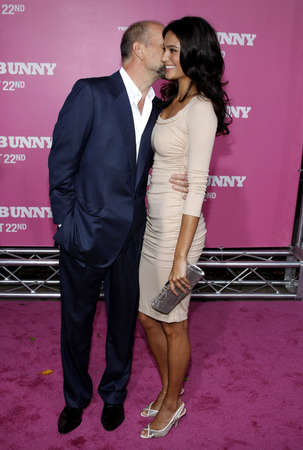 willis: Bruce Willis and Emma Heming at the Los Angeles premiere of House Bunny held at the Mann Village Theater in Westwood on August 20, 2008. Editorial