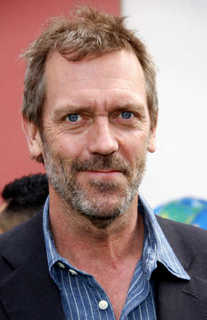 hugh: Hugh Laurie at the Los Angeles premiere of Hop held at the Universal Studios Hollywood in Universal City on March 27, 2011. Editorial