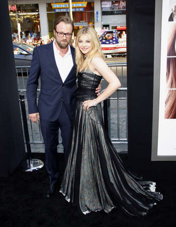 leonard: Chloe Grace Moretz and Joshua Leonard at the Los Angeles premiere of If I Stay held at the TCL Chinese Theatre in Los Angeles, USA on August 20, 2014.