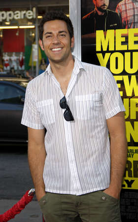 levi: Zachary Levi at the Los Angeles premiere of Horrible Bosses held at the Graumans Chinese Theater in Hollywood on June 30, 2011. Editorial