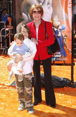 Carol Burnett at the World Premiere of Horton Hears a Who! held at the Westwood Village Theater in Westwood, USA on March 8, 2008.