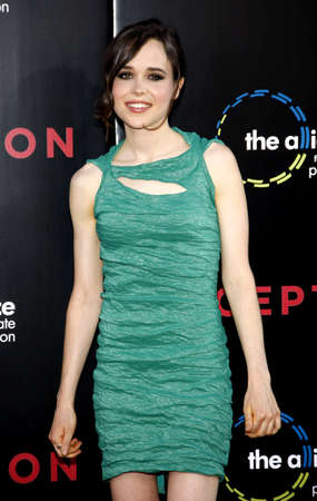 inception: Ellen Page at the Los Angeles premiere of Inception held at the Graumans Chinese Theatre in Hollywood on July 13, 2010.