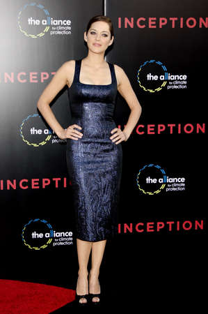marion: Marion Cotillard at the Los Angeles premiere of Inception held at the Graumans Chinese Theatre in Hollywood on July 13, 2010.