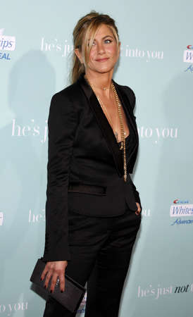 jennifer: Jennifer Aniston at the Los Angeles premiere of Hes Just Not That Into You held at the Graumans Chinese Theater in Hollywood on February 2, 2009.