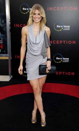 AnnaLynne McCord at the Los Angeles premiere of Inception held at the Graumans Chinese Theatre in Hollywood on July 13, 2010. Editorial