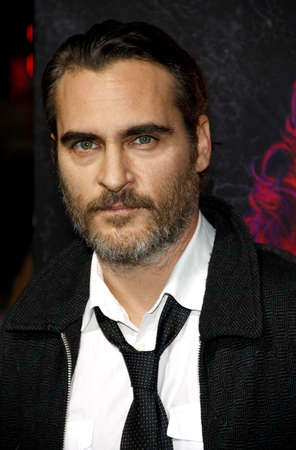 joaquin: Joaquin Phoenix at the Los Angeles premiere of Inherent Vice held at the TCL Chinese Theater in Hollywood on December 10, 2014. Editorial
