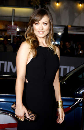 olivia: Olivia Wilde at the Los Angeles premiere of In Time held at the Regency Village Theater in Westwood on October 20, 2011. Editorial