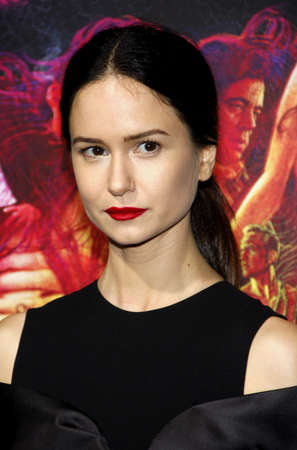 katherine: Katherine Waterston at the Los Angeles premiere of Inherent Vice held at the TCL Chinese Theater in Hollywood on December 10, 2014.