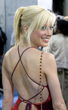 mann: WESTWOOD, CA - JULY 07, 2004: Courtney Peldon at the World premiere of I, Robot held at the Mann Village Theatre in Westwood, USA on July 7, 2004.