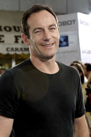 mann: WESTWOOD, CA - JULY 07, 2004: Jason Isaacs at the World premiere of 'I, Robot' held at the Mann Village Theatre in Westwood, USA on July 7, 2004.