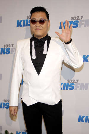 psy: PSY at the KIIS FMs Jingle Ball 2012 held at the Nokia Theater LA Live in Los Angeles on December 1, 2012.
