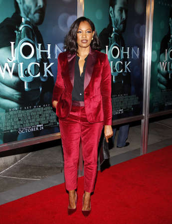 wick: Garcelle Beauvais at the Los Angeles premiere of John Wick held at the ArcLight Cinemas in Los Angeles on October 22, 2014 in Los Angeles, California.