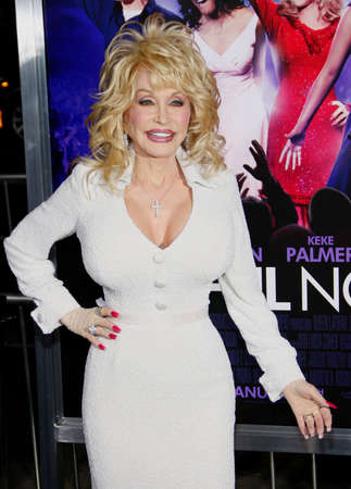 Dolly Parton at the Los Angeles premiere of Joyful Noise held at the Graumans Chinese Theatre in Hollywood, USA on January 9, 2012. Редакционное