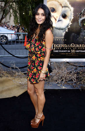 vanessa: Vanessa Hudgens at the Los Angeles premiere of 'Legends of the Guardians: The Owls of Ga'Hoole' held at the Grauman's Chinese Theater in Hollywood, USA on September 19, 2010. Editorial