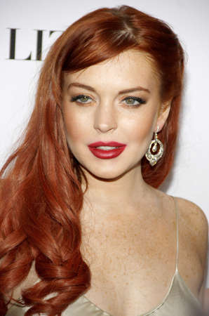 Lindsay Lohan at the Los Angeles premiere of Liz & Dick held at the Beverly Hills Hotel in Beverly Hills on November 20, 2012.
