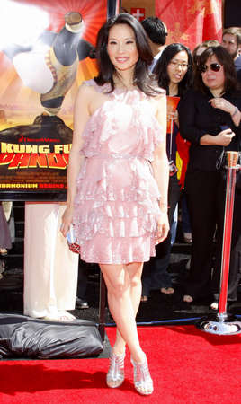 lucy: Lucy Liu at the Los Angeles Premiere of Kung Fu Panda held at the Graumans Chinese Theater in Hollywood, USA on June 1, 2008.