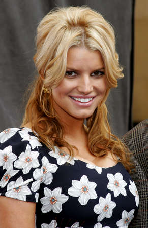 Jessica Simpson at the Blockbuster Total Access Launch held at the Kodak Theatre in Hollywood, USA on November 2, 2006.