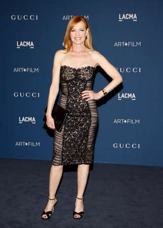 honoring: Marg Helgenberger at the LACMA 2013 Art + Film Gala Honoring Martin Scorsese And David Hockney held at the LACMA in Los Angeles, USA on November 2, 2013.