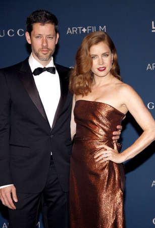 darren: Amy Adams and Darren Le Gallo at the LACMA 2013 Art + Film Gala Honoring Martin Scorsese And David Hockney held at the LACMA in Los Angeles, USA on November 2, 2013.