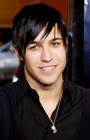 pete: Pete Wentz at the Los Angeles Premiere of Iron Man held at the Graumans Chinese Theater in Hollywood, USA on April 30, 2008.