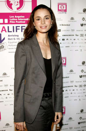 affliction: Mia Maestro at the LALIFF Screening of Chagas: A Hidden Affliction held at the Egyptian Arena Theatre in Hollywood, USA on October 7, 2006. Editorial