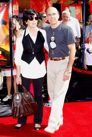jeffrey: Jeffrey Katzenberg and Marilyn Katzenberg at the Los Angeles Premiere of Kung Fu Panda held at the Graumans Chinese Theater in Hollywood, USA on June 1, 2008.
