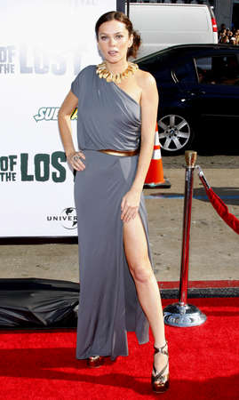 Anna Friel at the Los Angeles premiere of Land Of The Lost held at the Graumans Chinese Theater in Hollywood on May 30, 2009.