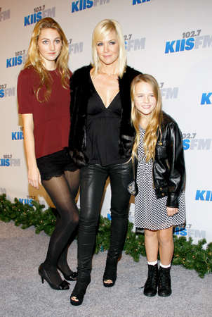 garth: Jennie Garth at the KIIS FMs Jingle Ball 2012 held at the Nokia Theater LA Live in Los Angeles on December 1, 2012.