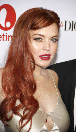 dick: Lindsay Lohan at the Los Angeles premiere of Liz & Dick held at the Beverly Hills Hotel in Beverly Hills on November 20, 2012.