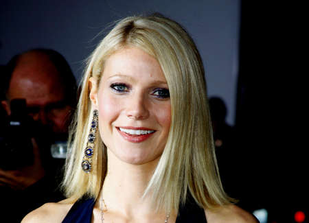 Gwyneth Paltrow at the Los Angeles Premiere of Iron Man held at the Graumans Chinese Theater in Hollywood, USA on April 30, 2008.
