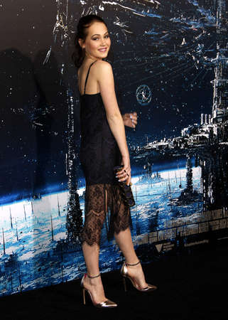Kelli Berglund at the Los Angeles premiere of Jupiter Ascending held at the TCL Chinese Theater in Hollywood on February 2, 2015. Editorial