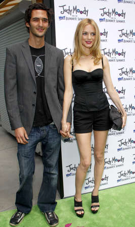 Heather Graham and Jason Silva at the Los Angeles premiere of Judy Moody And The Not Bummer Summer held at the ArcLight Cinemas in Hollywood on June 4, 2011.