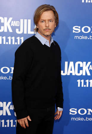 jill: David Spade at the Los Angeles premiere of Jack And Jill held at the Regency Village Theater in Westwood on November 6, 2011. Editorial