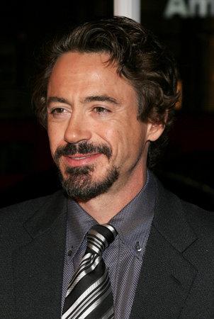 HOLLYWOOD, CA - OCTOBER 18, 2005: Robert Downey Jr. at the Los Angeles premiere of Kiss Kiss, Bang Bang held at the Graumans Chinese Theater in Hollywood, USA on October 18, 2005. Editorial