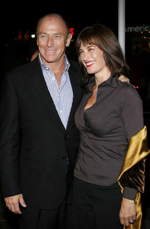 HOLLYWOOD, CA - OCTOBER 18, 2005: Amanda Pays and Corbin Bernsen at the Los Angeles premiere of Kiss Kiss, Bang Bang held at the Graumans Chinese Theater in Hollywood, USA on October 18, 2005.