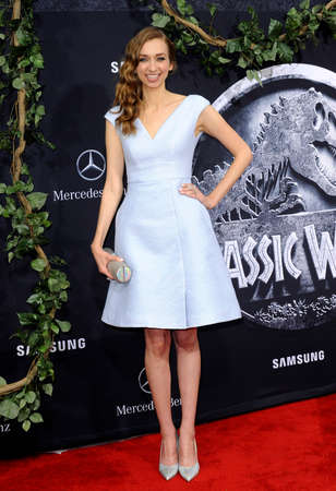dolby: Lauren Lapkus at the Los Angeles premiere of Jurassic World held at the Dolby Theater in Hollywood, USA on June 9, 2015. Editorial