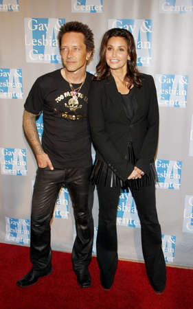morrison: BEVERLY HILLS, CA - MAY 19, 2012: Gina Gershon and Billy Morrison at the L.A. Gay and Lesbian Centers An Evening With Women held at the Beverly Hilton Hotel in Beverly Hills, USA on May 19, 2012.